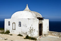 Cape Espichel Hermitage, Portugal Royalty Free Stock Image