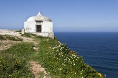 Cape Espichel Hermitage, Portugal Royalty Free Stock Photos