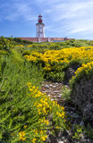 Cape Espichel lighthouse, Portugal Royalty Free Stock Photo