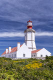 Cape Espichel lighthouse, Portugal Royalty Free Stock Photos