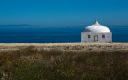 Cape Espichel lonely site Royalty Free Stock Photos
