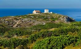 Cape Espichel, Portugal Stock Images