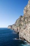 Cape Espichel south cliff Stock Photos