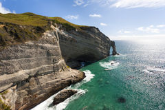 Cape Farewell. South Island New Zealand Stock Image