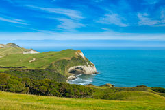 Cape Farewell, Able Tasman national park. New Zealand Stock Images