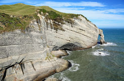 Cape Farewell arch. Landscape on Cape Farewell area -New Zealand Stock Images