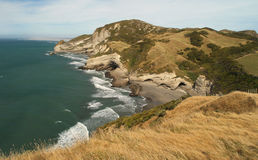 Cape Farewell landscape Stock Photo