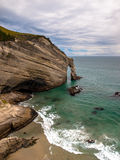 Cape Farewell, Natural Rocky Arch Royalty Free Stock Photos