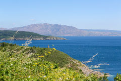 Cape Finisterre Royalty Free Stock Images