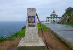 Cape Finisterre Stock Photo