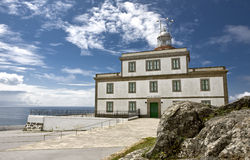 Cape Finisterre lighthouse Stock Photo