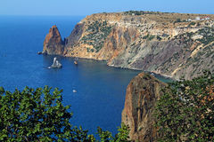 Cape Fiolent in Crimea Royalty Free Stock Photos