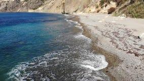 Fiolent cape Crimea. Cape Fiolent in the Crimea in october stock video footage