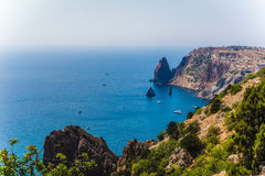 Cape Fiolent Crimea stock images