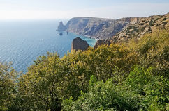 Cape Fiolent in Sevastopol Royalty Free Stock Images