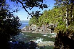 Cape Flattery. Near Neah Bay, Washington State Royalty Free Stock Photo