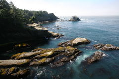 Cape Flattery in Olympic national park Royalty Free Stock Photography