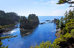 Cape Flattery panorama Royalty Free Stock Images