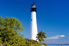 Cape Florida Lighthouse Stock Photos