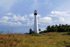 Cape Florida Lighthouse. Key Biscayne Florida stock images