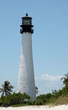 Cape Florida lighthouse Stock Image