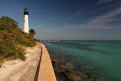 Cape Florida Lighthouse Royalty Free Stock Image