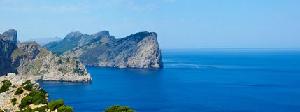 Cape formentor Royalty Free Stock Photography