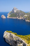 Cape Formentor in the Coast of North Mallorca Royalty Free Stock Photography