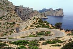 Cape Formentor on island Majorca, Spain. Stock Photo