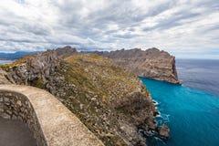 Cape Formentor in Majorca, Balearic island, Spain Royalty Free Stock Photography
