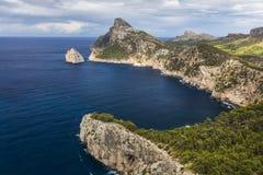 Cape Formentor in Majorca, Balearic island, Spain Stock Photography