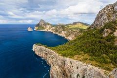Cape Formentor in Majorca, Balearic island, Spain. Cape Formentor in Mallorca, Balearic island, Spain Royalty Free Stock Photography