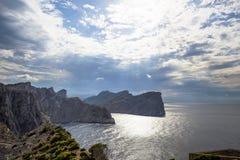 Cape Formentor in Majorca, Balearic island, Spain. Cape Formentor in Mallorca, Balearic island, Spain Royalty Free Stock Photo