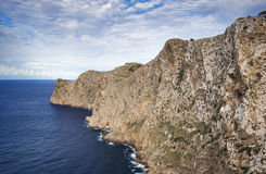 Cape Formentor in Majorca, Balearic island, Spain. Cape Formentor in Mallorca, Balearic island, Spain Stock Images