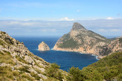 Cape formentor majorca Stock Photography