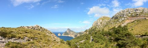 Cape formentor majorca Stock Images