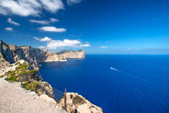 Cape Formentor Mallorca Stock Photography