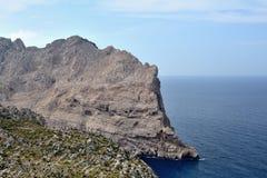 Cape Formentor, Mallorca. Cape Formentor in Mallorca, Balearic island, Spain Royalty Free Stock Photos