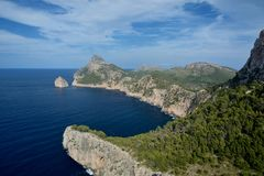 Cape Formentor, Mallorca Stock Photos