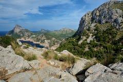 Cape Formentor, Mallorca. Cape Formentor in Mallorca, Balearic island, Spain Stock Images