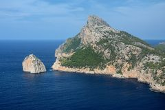 Cape Formentor, Mallorca Royalty Free Stock Photography