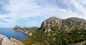 Cape Formentor, Mallorca Royalty Free Stock Photos