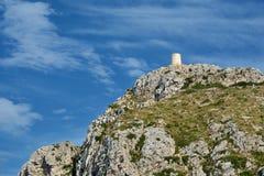 Cape Formentor, Mallorca. Cape Formentor in Mallorca, Balearic island, Spain Stock Image