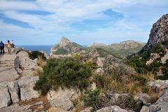 Cape Formentor, Mallorca Stock Photography