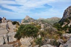Cape Formentor, Mallorca. Cape Formentor in Mallorca, Balearic island, Spain Stock Photography