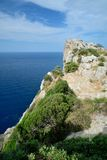Cape Formentor, Mallorca. Cape Formentor in Mallorca, Balearic island, Spain Royalty Free Stock Images