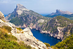 Cape Formentor, Mallorca. Balearic island, Spain Royalty Free Stock Photos