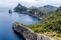 Cape Formentor in Mallorca, Balearic island, Spain Stock Images