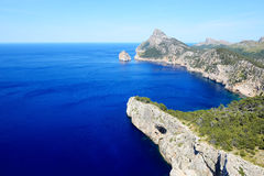 The Cape Formentor in Mallorca island Stock Images