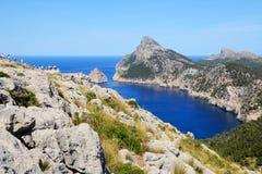 The Cape Formentor in Mallorca. Island, Spain Stock Image